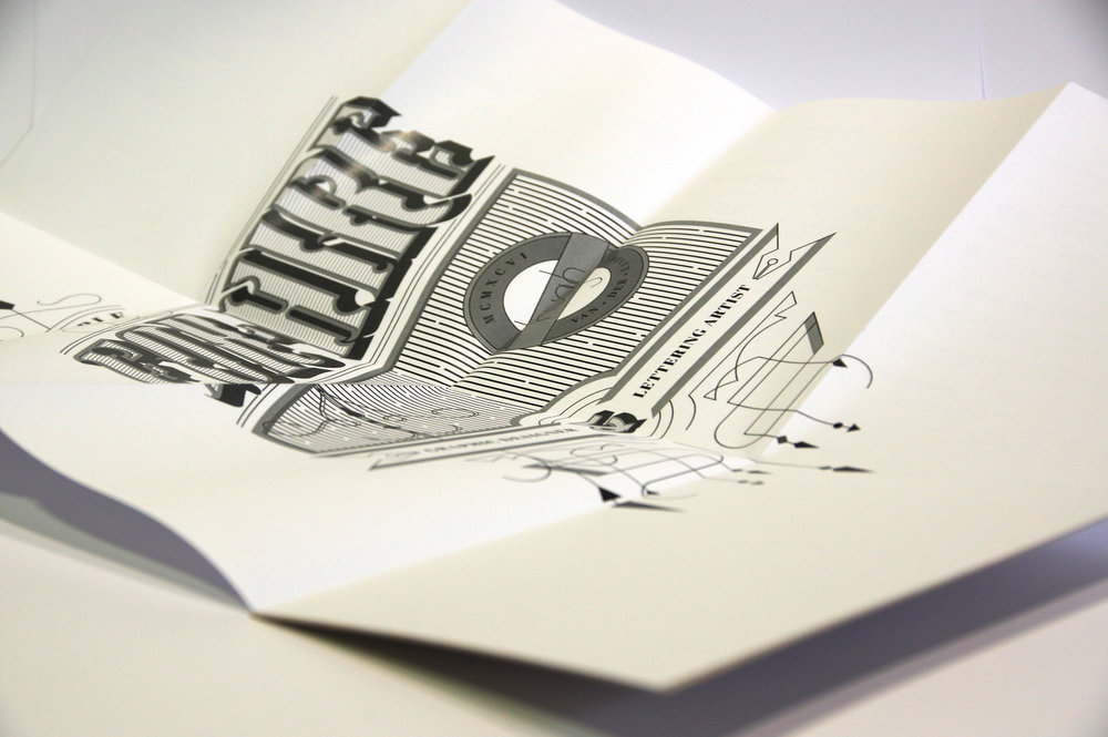 Self Promotion Typography -