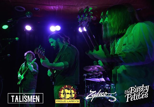 Big thanks to everyone who contributed to a successful doubleheader this weekend with @thetalismenband. @greenbarttown, yer next. See you friday 📷: @photoxlucile #staybusty #thetalismen #zydeco #proudlarrys #oxford #bustyentertainment #namm #supportlivemusic #liveandlisten  #bustytour2019 #doublenose #content #greenbarttown
