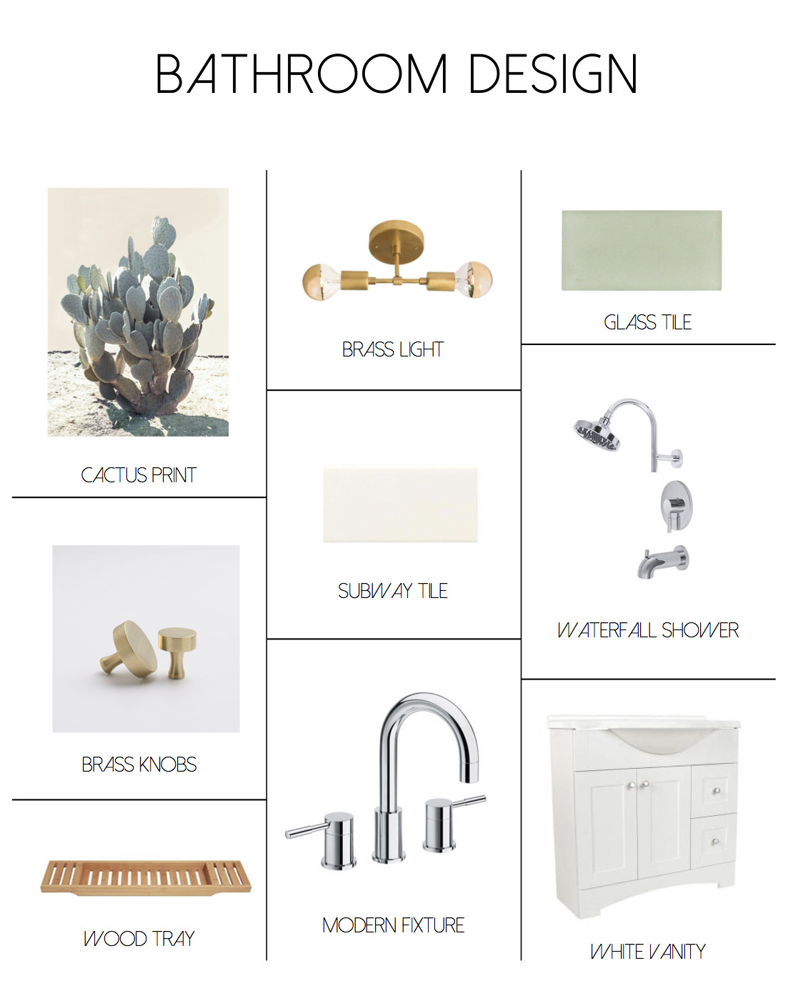 My Simply Simple | Joshua Tree Inspired Bathroom Update