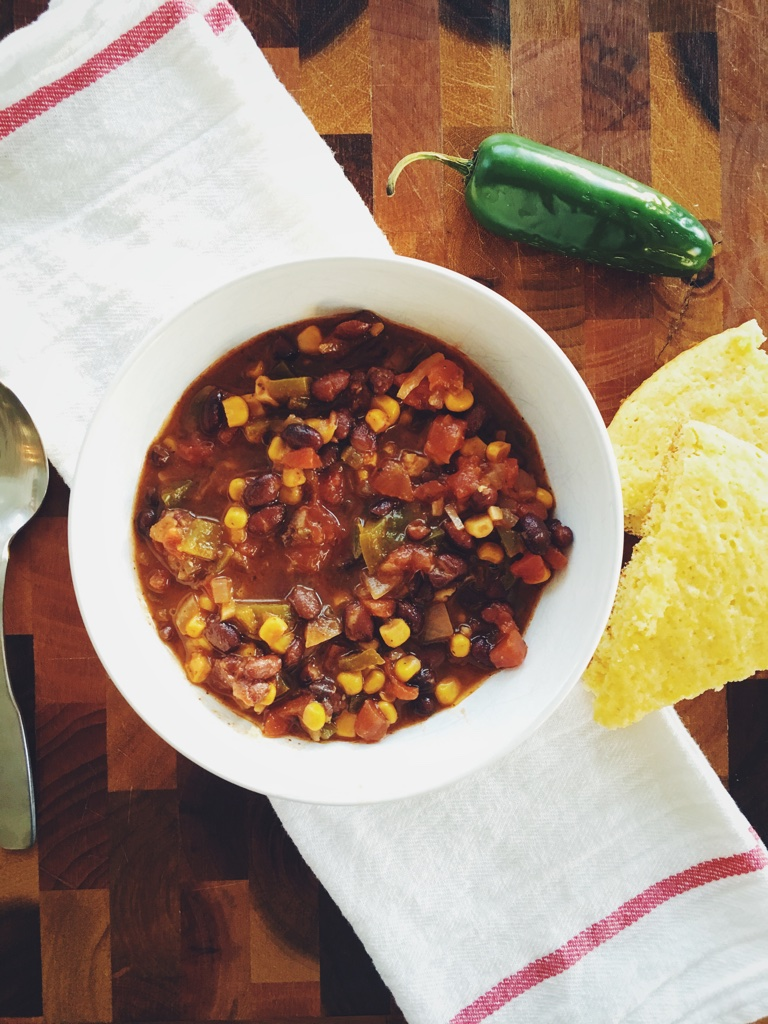 My Simply Simple | Spicy Vegetarian Chili