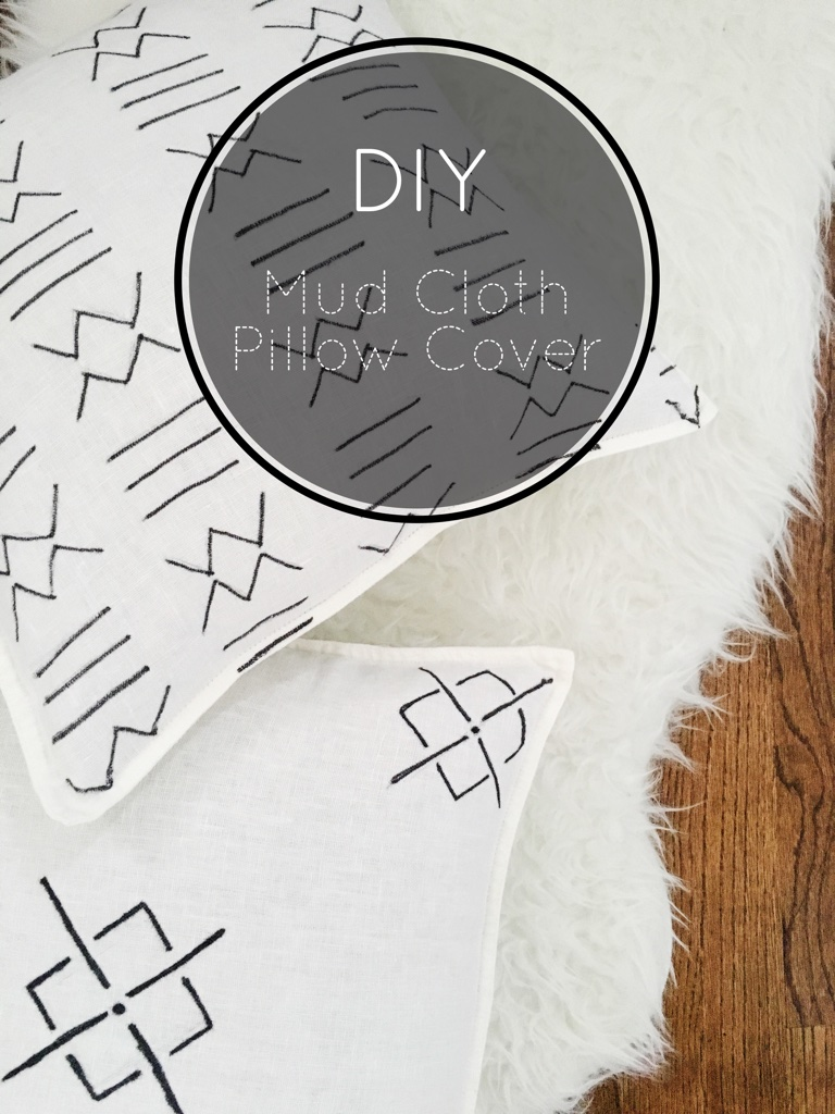 DIY Mod Cloth Pillow Cover