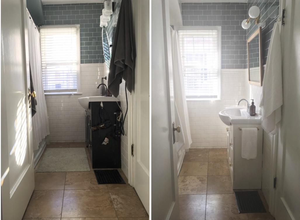 Bathroom Makeover | Before + After