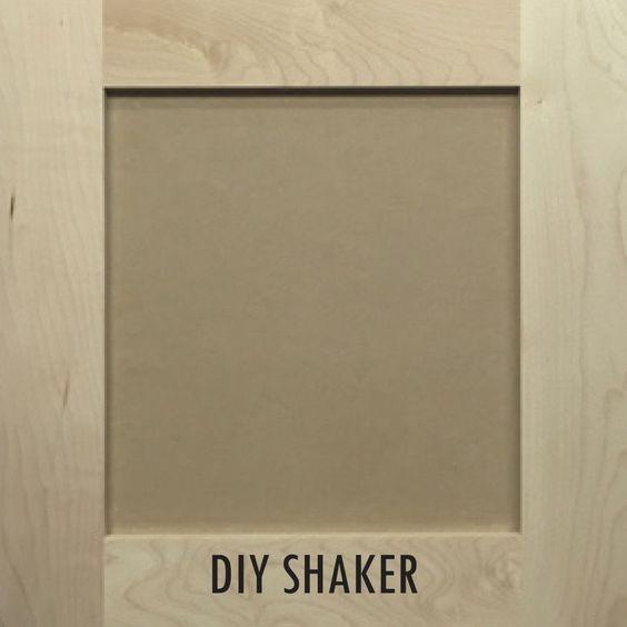 DIY Shaker Cabinets