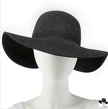 jc penny winter floppy hat
