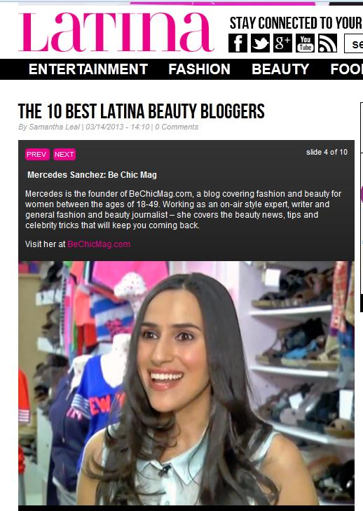 latina beauty bloggers