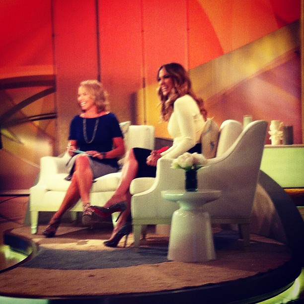 jennifer lopez katie couric taping