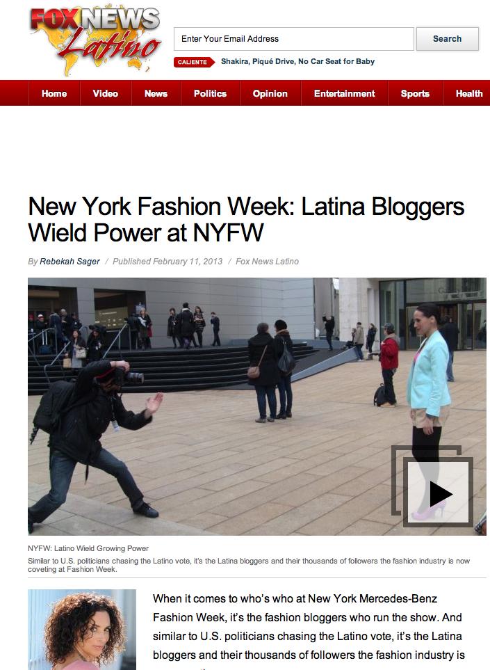 latina fashion bloggers