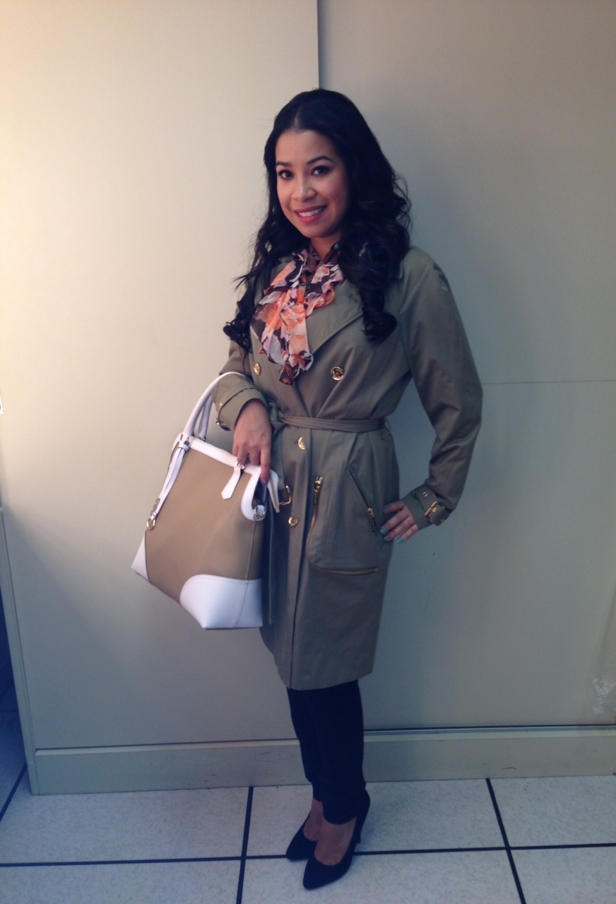 michael kors trench coat macys