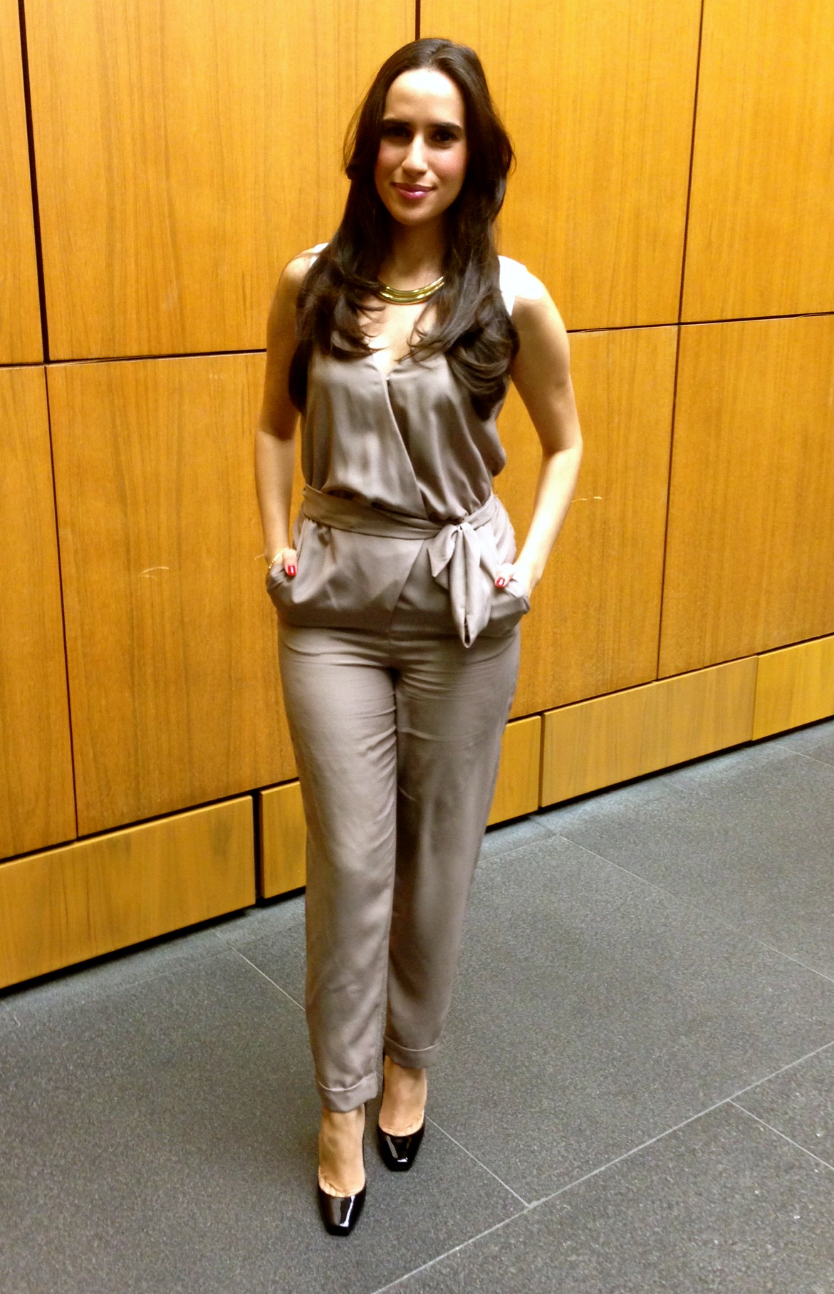 latina fashion expert jumpsuit