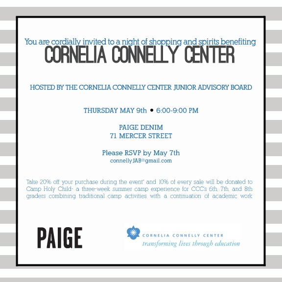 paige denim cornelia connelly center