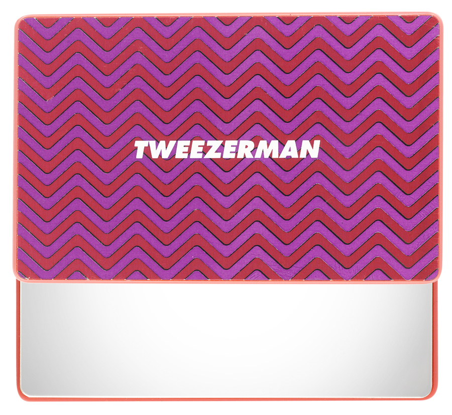 Tweezerman's Unbreakable Mirror- Pink