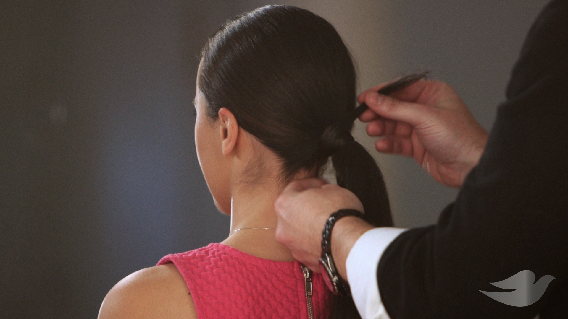 pony tail hair tutorial dove