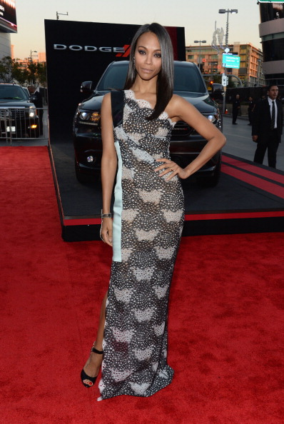 american music awards zoe saldana