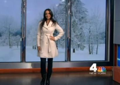 winter white coat