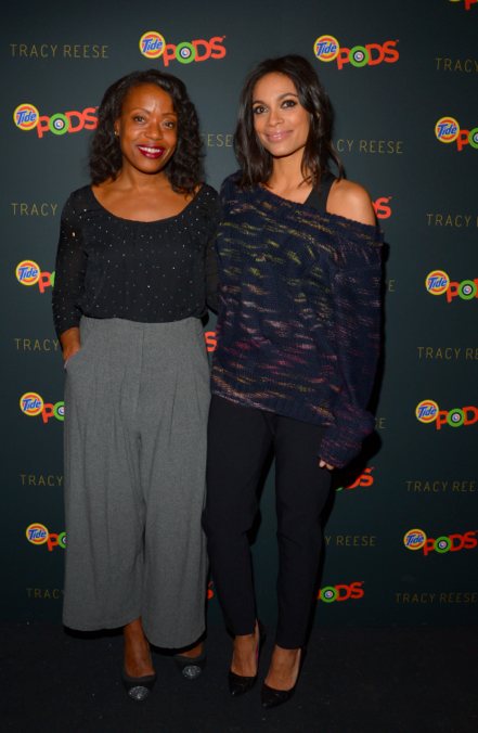 tracy reese and rosario dawson