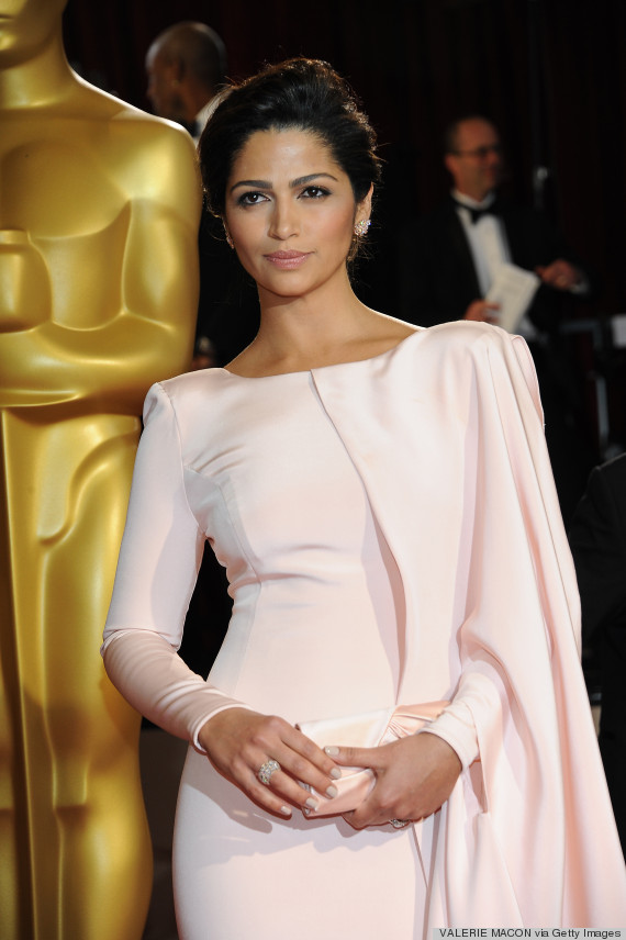 camlia alves oscars pink dress