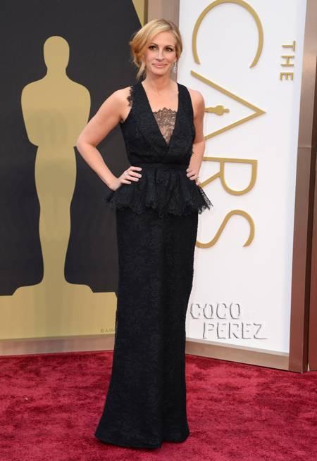 julia roberts oscars 2014 givenchy