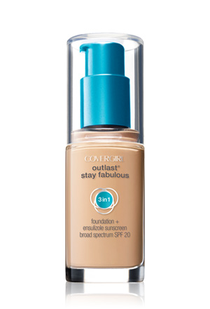 cover girl outlast stay fabulous 3 in 1 foundation