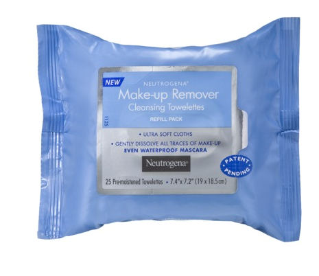 neutrogena make-up remover cleansing towelettes