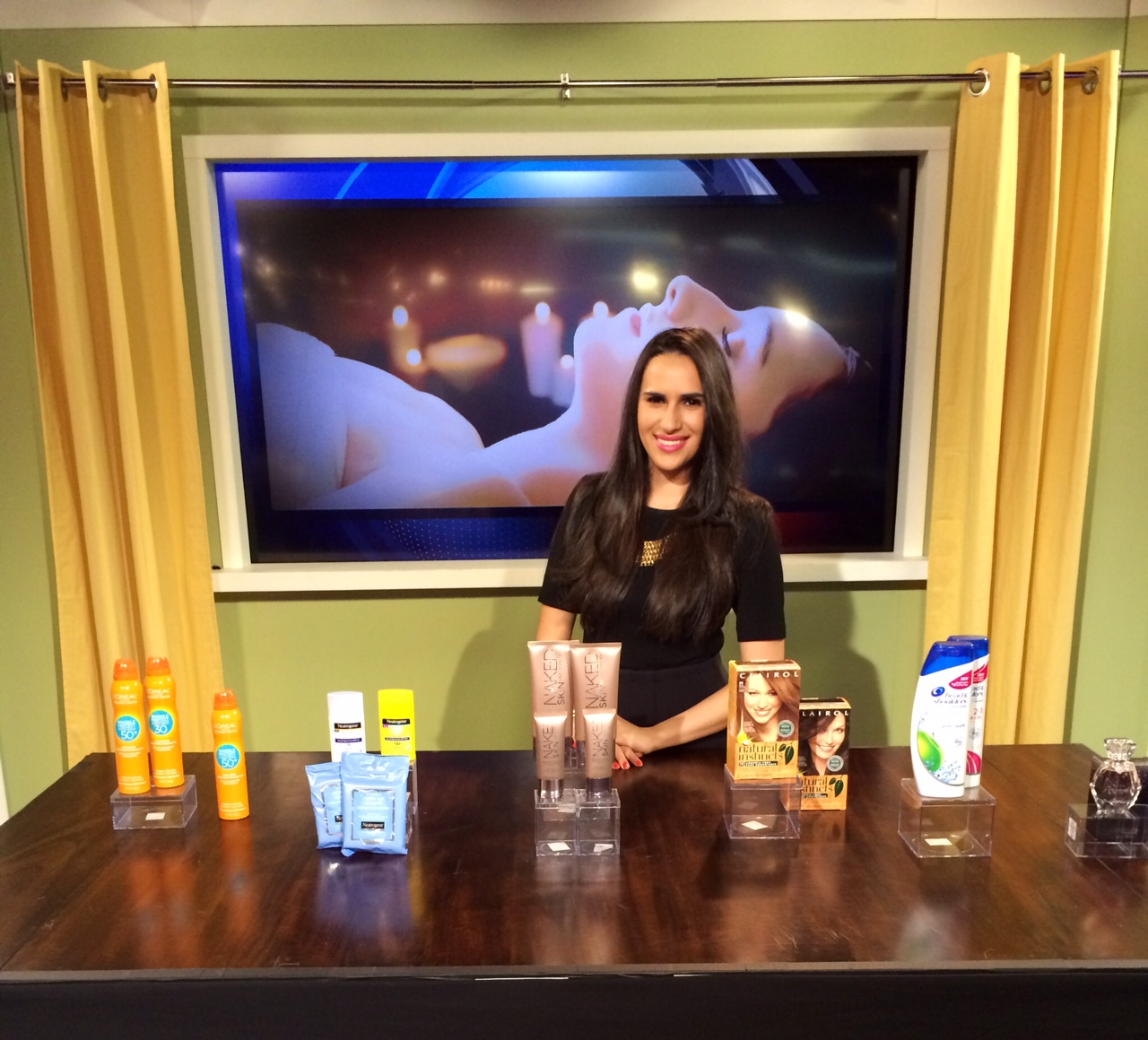 mercedes sanchez shares beauty tips on telemundo
