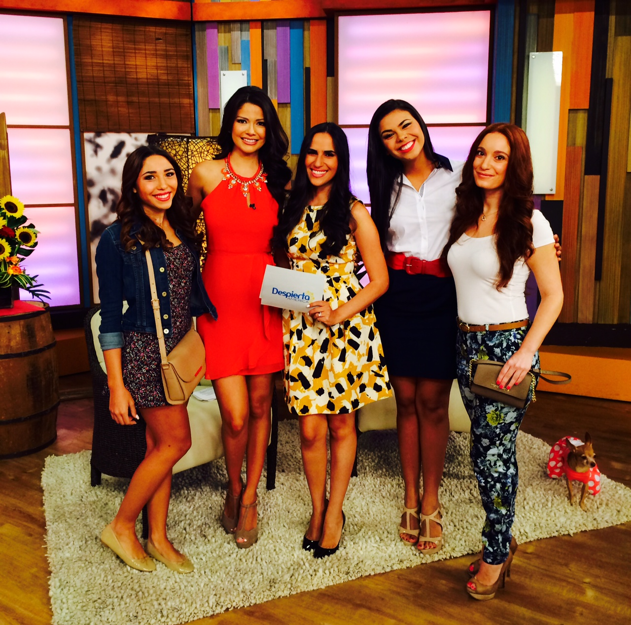 Style Segment on 'Despierta America' — Be Chic Mag