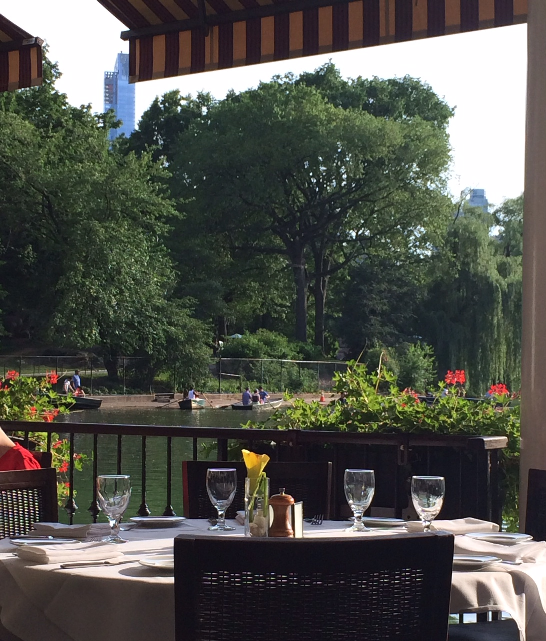 loeb boathouse central park nyc blogger