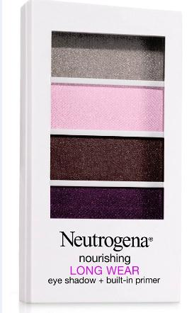neutrogena nourishing long wear eye shadow built in primer