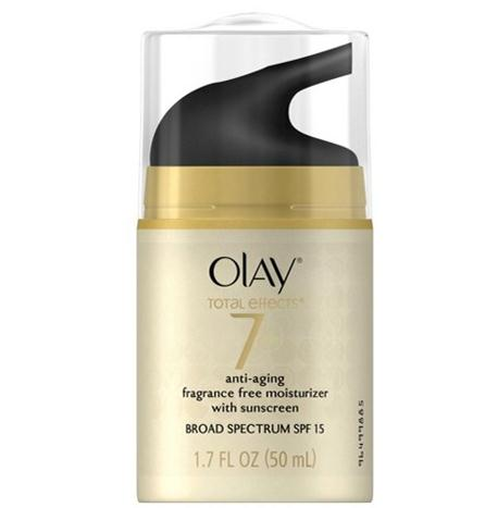 olay anti-aging moisturizer with sunscreen