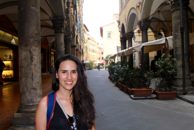 blogger in italy