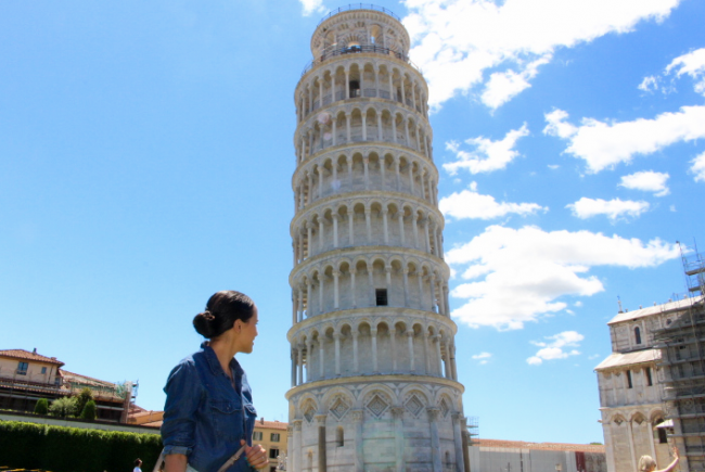 leaning tower of pisa tour