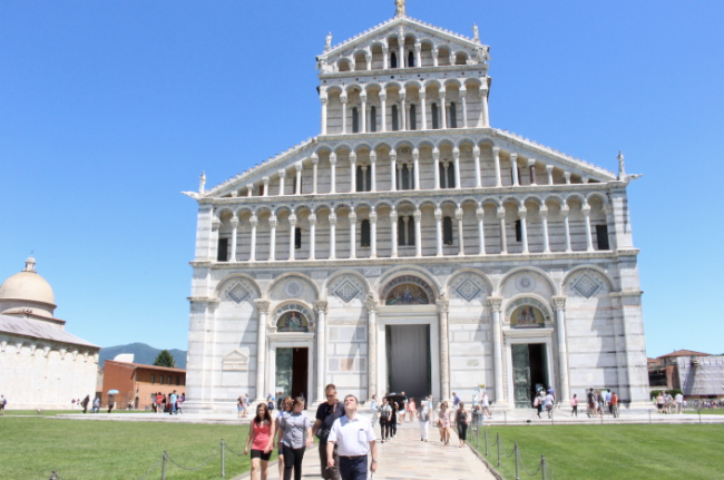 church in pisa