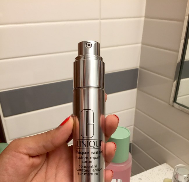 clinique custom repair serum