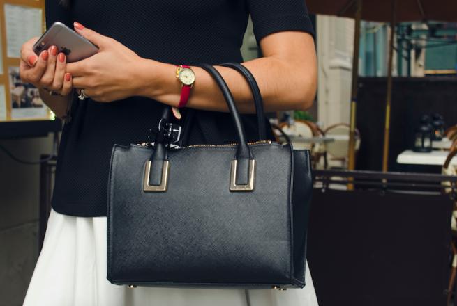 black purse h&m