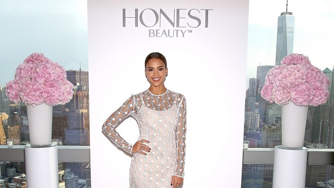 jessica alba honest beauty launch