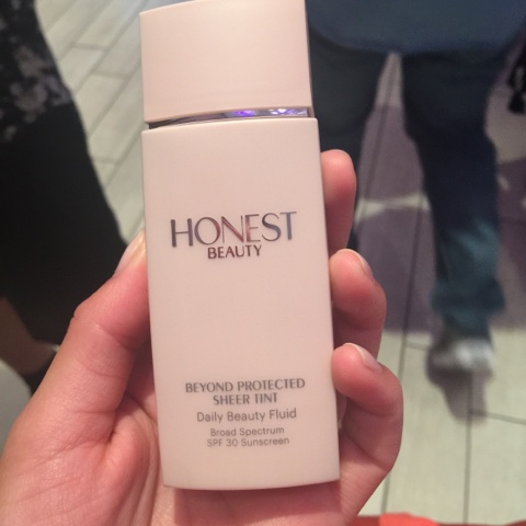 honest beauty spf