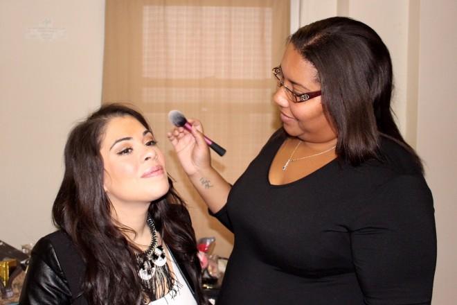 beauty blogger smokey eye