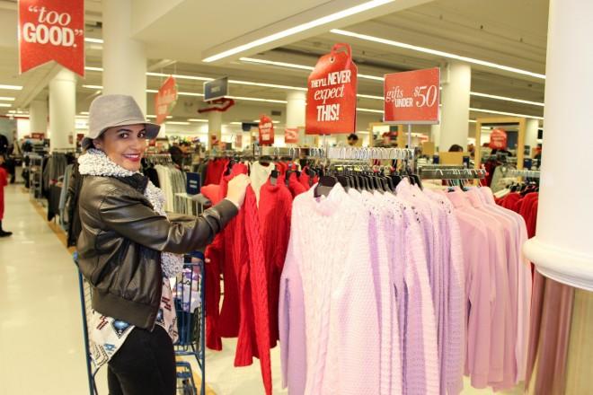 tj maxx and marshalls holiday shopping
