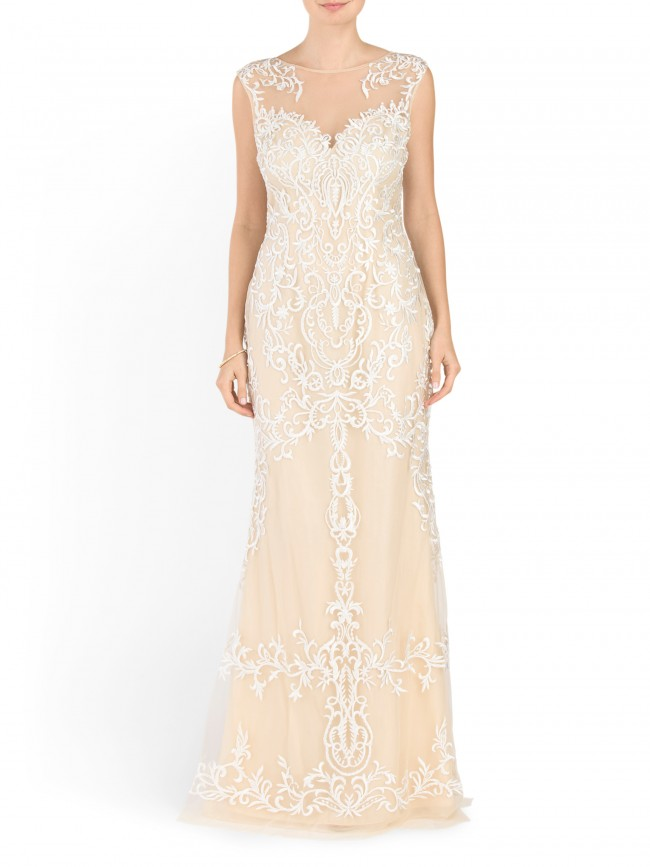 wedding dress on a budget t.j. maxx