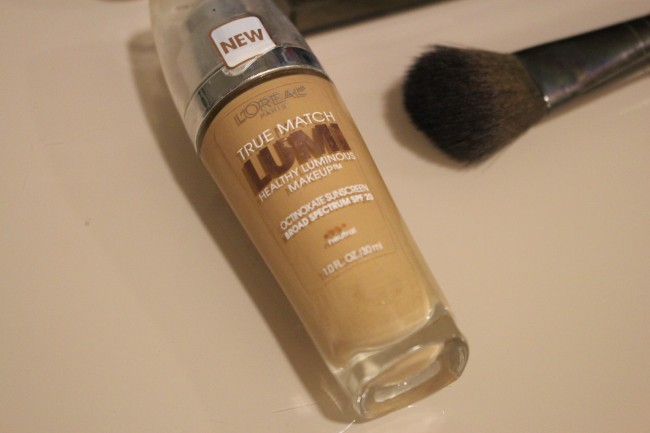 beauty blogger loreal tru match lumi foundation