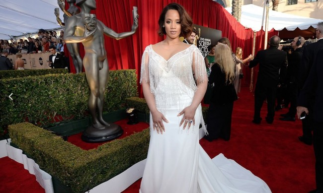 sag awards dascha polanco red carpet