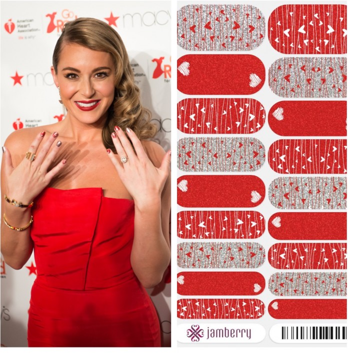 Alexa Vega Jamberry nails fashion week