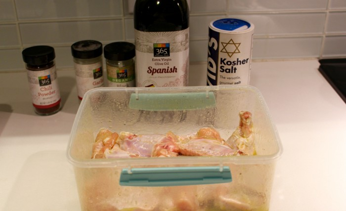 marinate chicken wing
