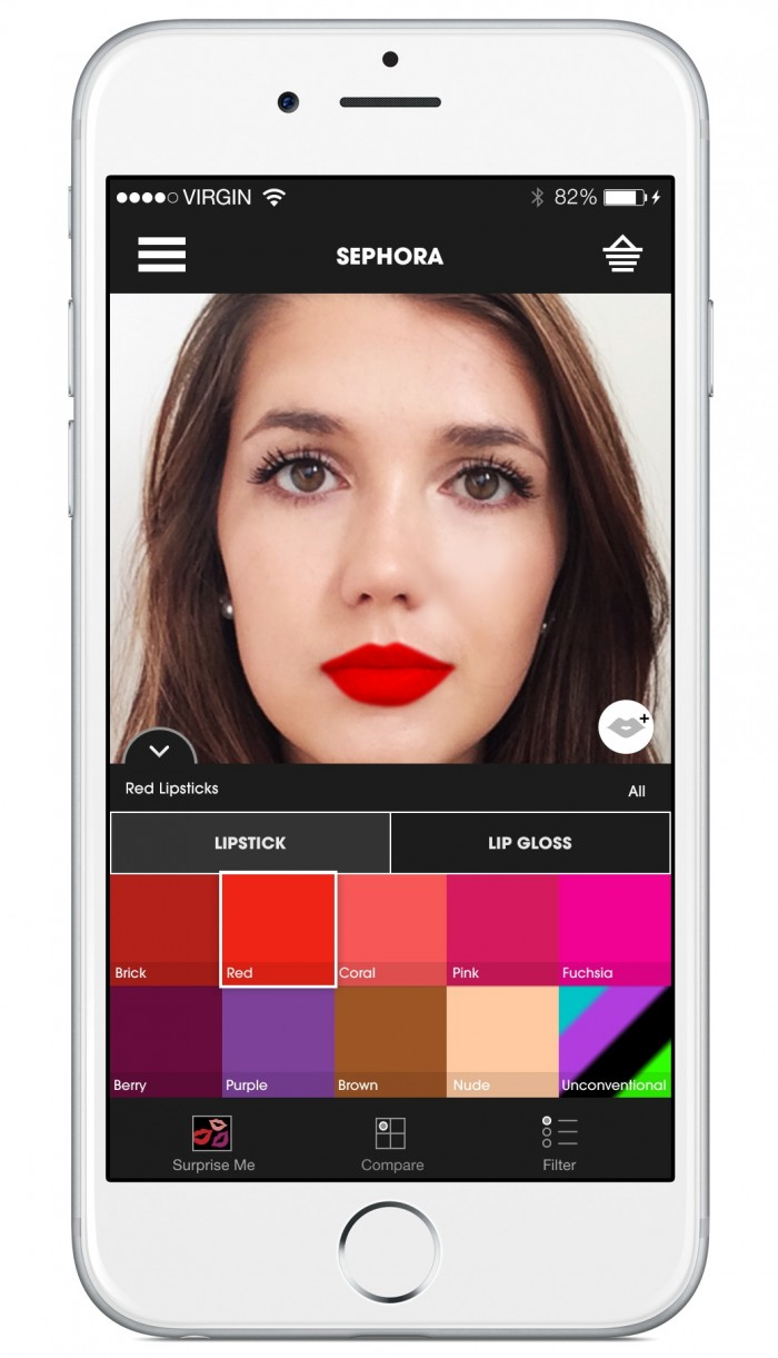 sephora launches app