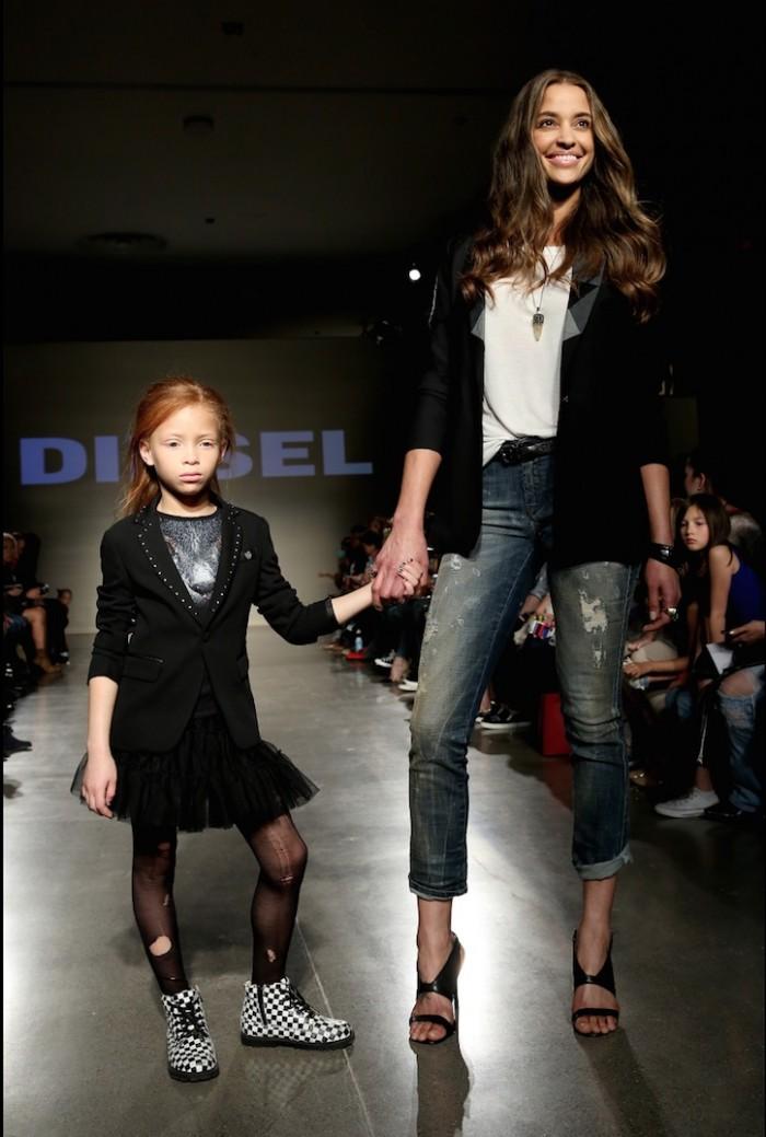 diesel kids fashion week