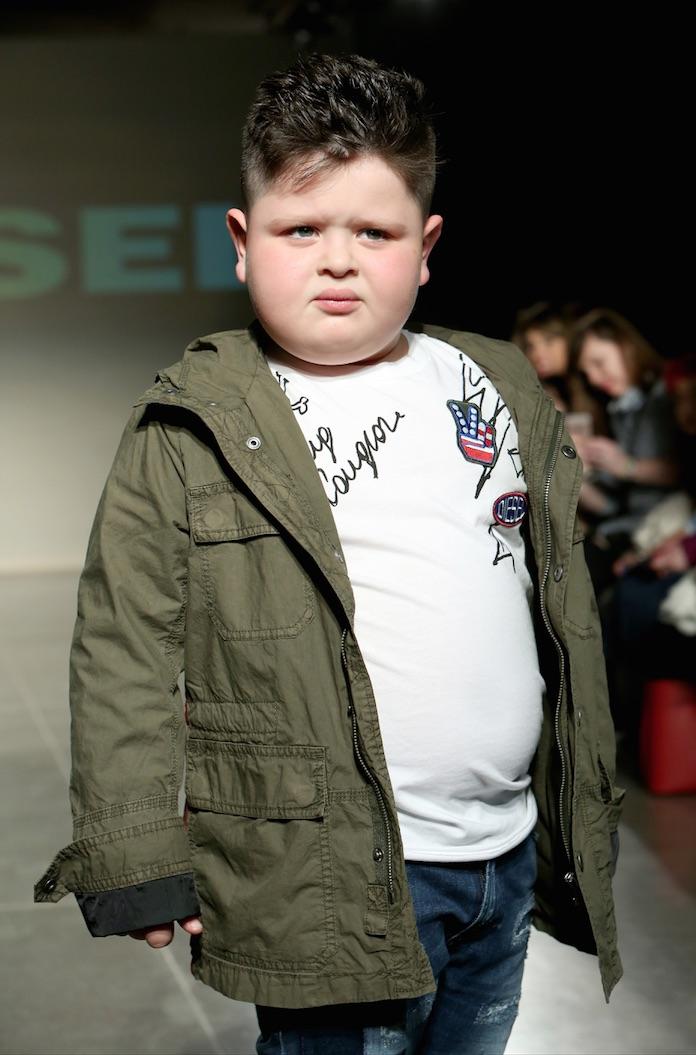 diesel kids fashion show