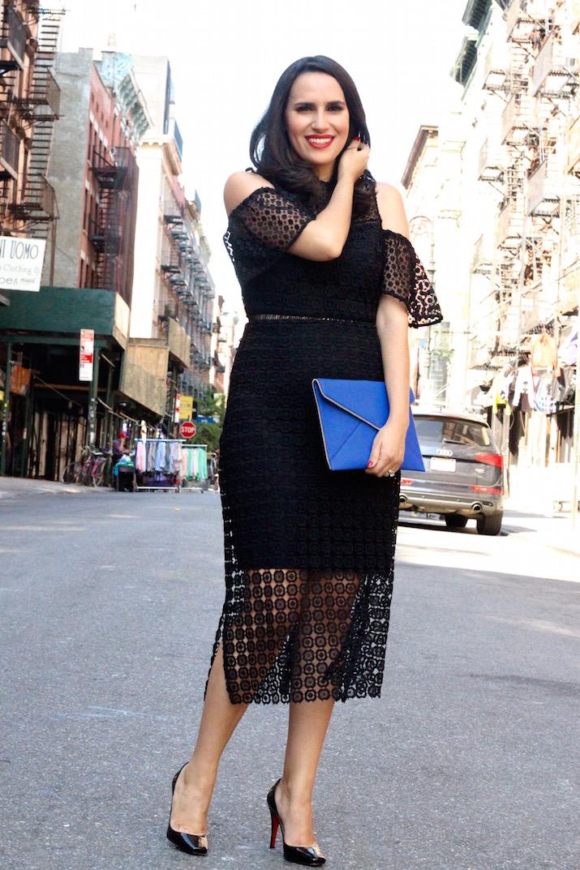 little black dress lace
