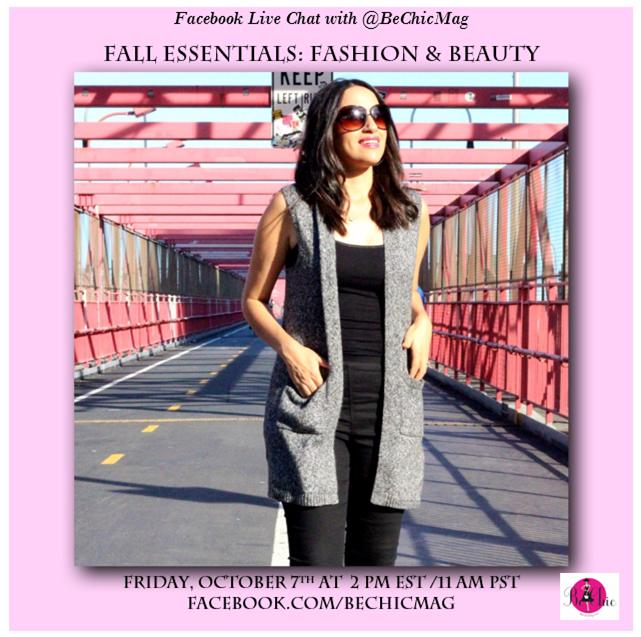 facebook live fashion tips
