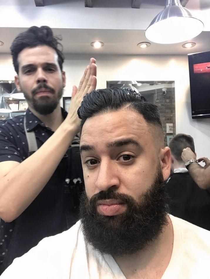 Allen cut shave