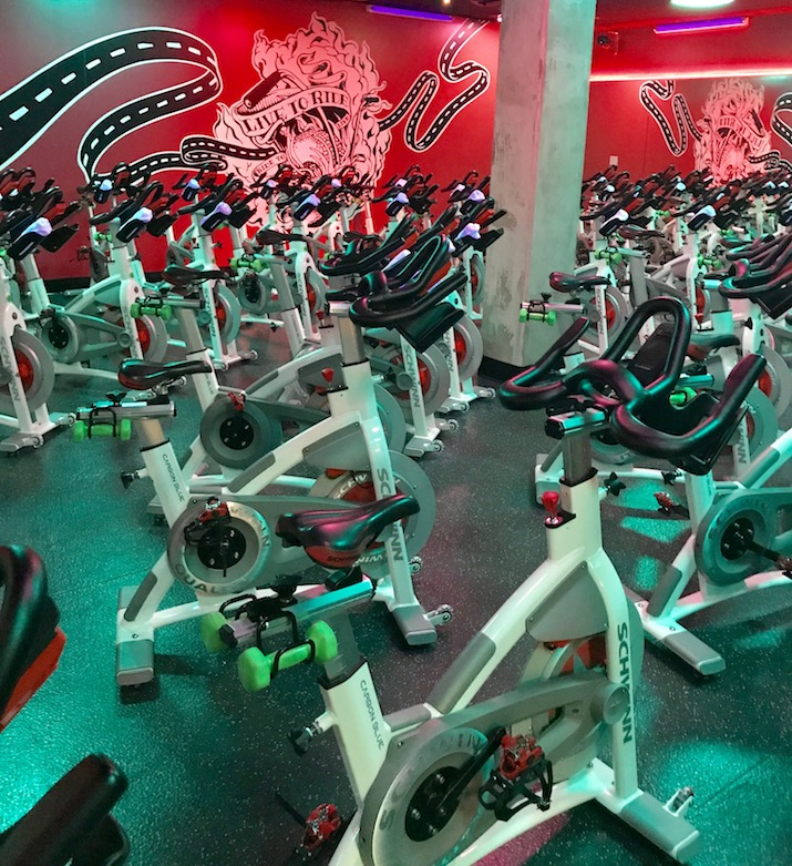 spin class nyc
