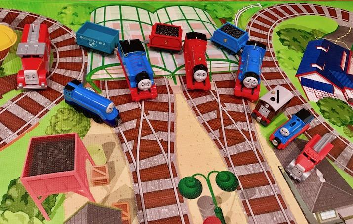 Thomas the train daddy blog